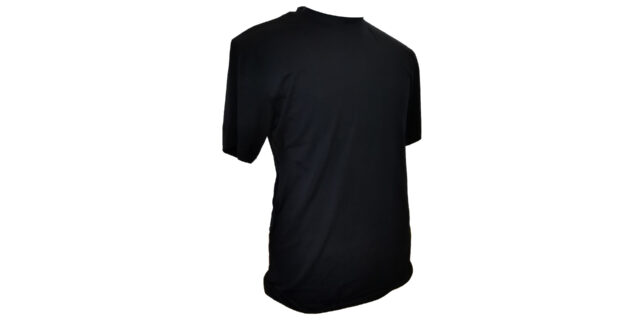 Black Cotton T-Shirt - NEW