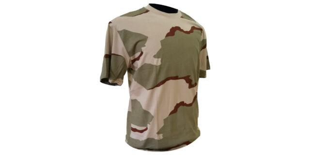Desert Camo Cotton T-Shirt - NEW