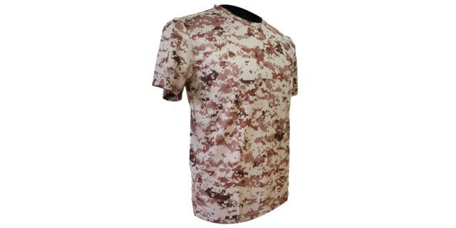 Digital Desert Camo Polyester T-Shirt - NEW