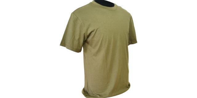 Green Cotton T-Shirt - NEW