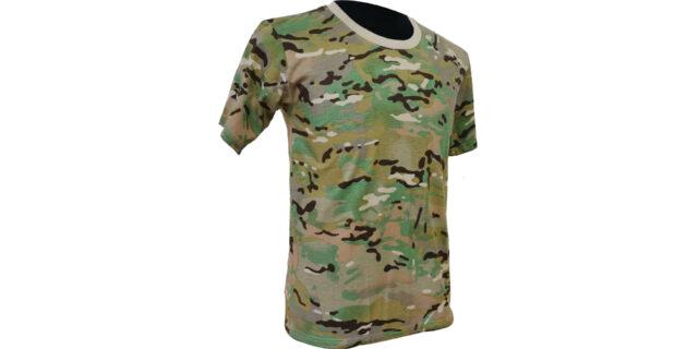 Multicam Cotton T-Shirt - NEW
