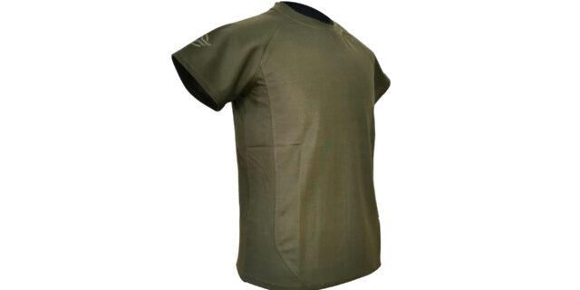 Olive Green Coolmax T-Shirt - NEW
