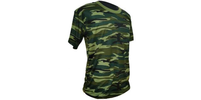 Urban Jungle Camo Polyester T-Shirt - NEW