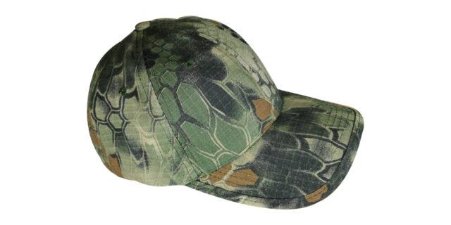 Dark Green Rattlesnake Cap