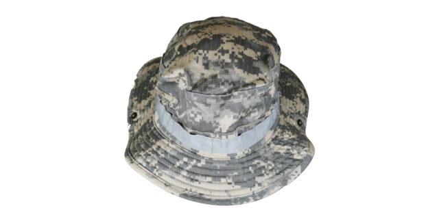 Digital Grey Bush Hat