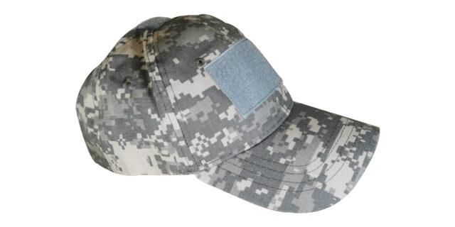 Digital Grey Cap (With Velcro Patch)