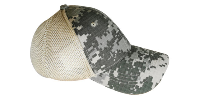 Digital Grey Mesh Cap