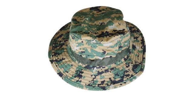 Digital Woodland Bush Hat