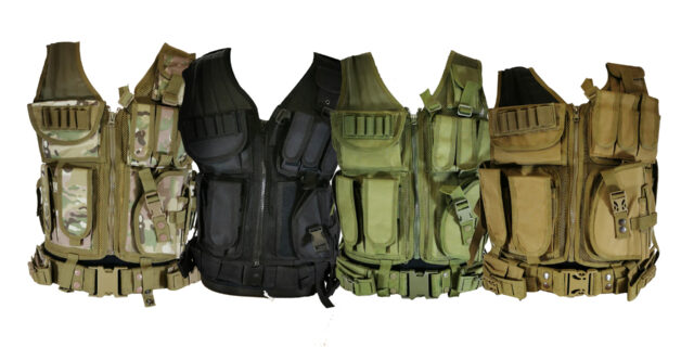 Light Weight Airsoft Vest (Various Colours)