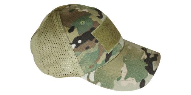 Multicam Mesh Cap (With Velcro Patch)