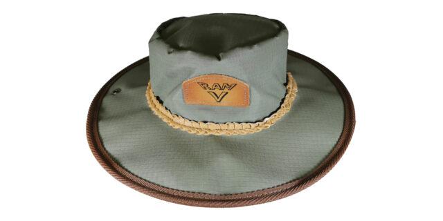 Olive Green Canvas Bush Hat - NEW