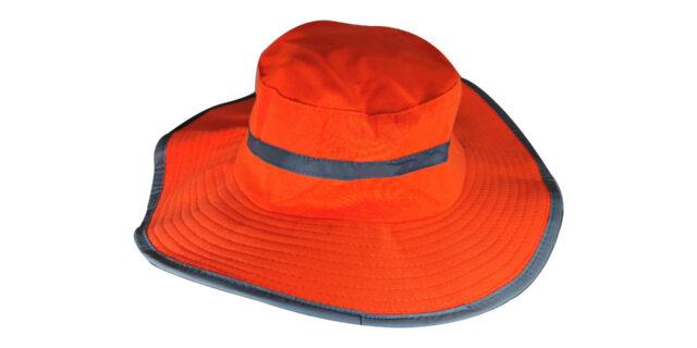 PPE Orange Bush Hat