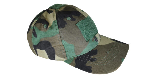 Woodland Cap (With Velcro Patch)