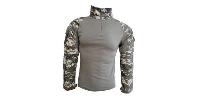 "Digital Grey Camo ""Frog Shirt"" - NEW"
