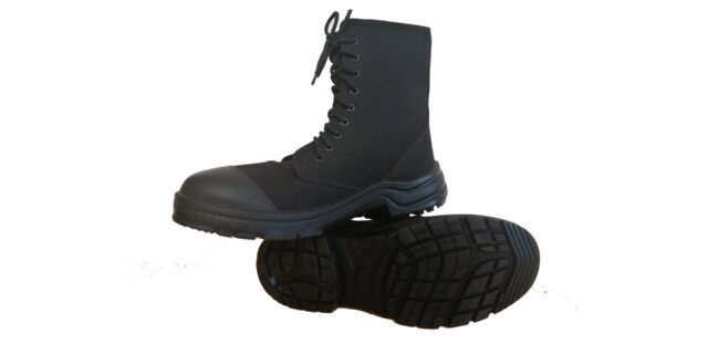 Canvas Security Boots - NEW