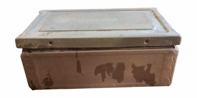 Ex-SANDF Large Ammo Box - USED