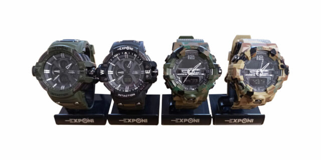 Exponi Watch (Various Colours) - NEW