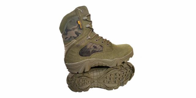 Olive Camo Delta Boots - NEW